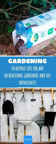 10 DIY and gardening tricks #diy #gardening #helpful #tips