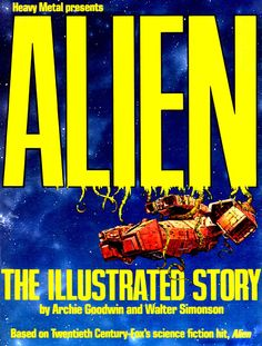 Alien: The Illustrated Story - Walt Simonson art & cover