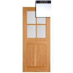LPD Doors Adoorable Oak Cottage 4 Light Double Glazed Exterior/External Door  sc 1 st  Pinterest & LPD Doors Adoorable Oak Cottage Stable 6 Light Double Glazed ...