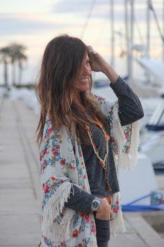 gorgeous hippie style