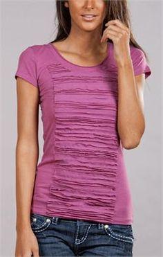 another downeast shirt: - A girl and a glue gun