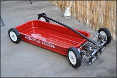 red wagon hot rod radio flyer | Air Ride Radio Flyer : The Rascals Cats .....