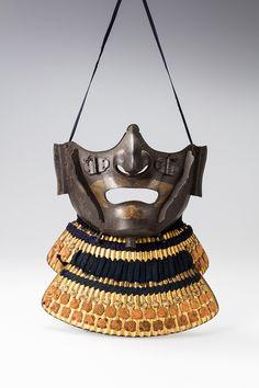 毛描きの髭 Japanese Mask, Japanese Sword, Chinese Painting, Chinese Art, Samurai Armor, Japanese Calligraphy, Body Armor, Linocut Prints, Japanese Culture