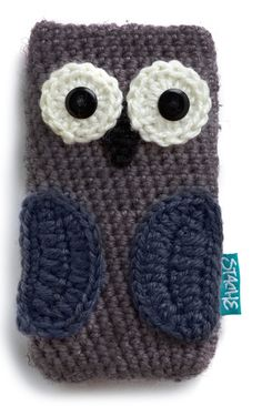 At Your Beak and Call Media Case in Owl Phone Case