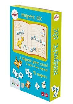 Sevi: magnetyczna książka ABC, 79 zł Noski Noski Magnets, Abs, Gifts, Products, Crunches, Presents, Abdominal Muscles, Favors, Killer Abs