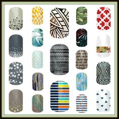 Some of our fun designs from the 2014 Fall Winter catalog...available at www.branderambo.jamberrynails.net