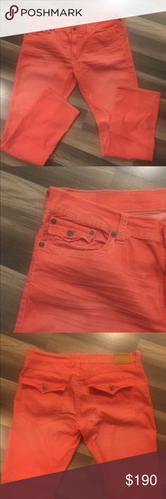 Ricky Relaxed Straight True Religion Jeans Ricky Relaxed Straight True Religion Jeans.  Size 40. Like new! True Religion Jeans Straight Leg
