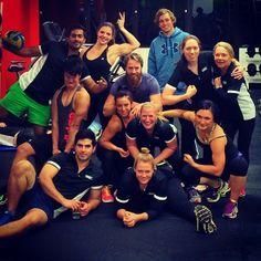 @ceekaii Class clown! #ausinstfitness #fitness #friends #train #workout #gym