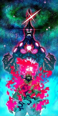 The Spiral King, Gurren Lagann. Arte Gundam, Lagann Gurren, Arte Dark Souls, Gurren Laggan, Character Art, Character Design, Anime Lock Screen, Robot Art, Robots