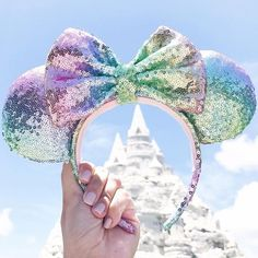 """1,291 Likes, 33 Comments - Joy ✨ Magical World For Two (@magicalworldfortwo) on Instagram: """"Castles... they just find me ••• These ears are rainbow perfection! They go with everything, even…"""""""