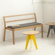 A solid, comfortable bench which has the ability to be stacked 4 high, making it ideal for flexible spaces.