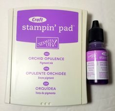 Stampin' Up! Martha Stewart Crafts, Pigment Ink, Soft Colors, My Ebay, Orchids, Stampin Up, Finding Yourself, Card Making, Bottle