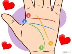 """Conoce tu futuro amoroso con la lectura de la mano observando tu """"línea del amor"""" ~ Nueva Mentes"""