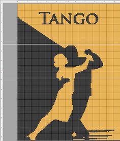 tango bicolor x-stitch