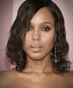 Summer Hairstyles : Kerry Washington's Wet Curls at the CFDA Fashion Awards The Most Daring Re Curly Hair Styles Easy, Curly Hair Tips, Long Curly Hair, Natural Hair Styles, Curly Girl, Summer Hairstyles, Easy Hairstyles, Curly Hair Problems, Biracial Hair