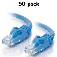 Intellinet 75 ft CAT5E UTP Ethernet RJ45 Patch Cable BL
