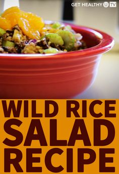 Looking for a side dish that's healthier than traditional potato salad or pasta salad? This healthy wild rice salad is full of protein and made with just a handful of simple ingredients. Watch this short video to see how to make wild rice salad in a few easy steps. All you'll need is some wild rice, dried cranberries, raisins, walnuts, mandarin oranges, and a few other ingredients to make this healthy dish come together in a pinch.