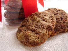 Cookies duplos de chocolate e manteiga de amendoim