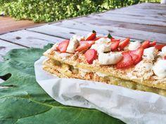 Paras Britakakku terassilla Sweet Pastries, Hawaiian Pizza, No Bake Desserts, Camembert Cheese, Dairy, Yummy Food, Baking Ideas, Foods, Sweets