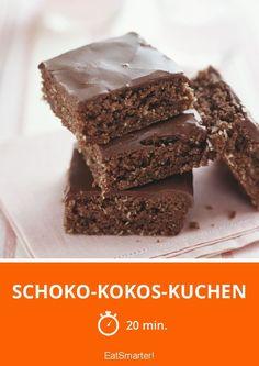 Schoko-Kokos-Kuchen - smarter - Zeit: 20 Min. | eatsmarter.de