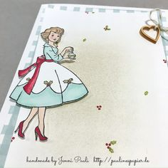Stampin'Up! Stampin'Blends Christmas in the making  Jenni Pauli