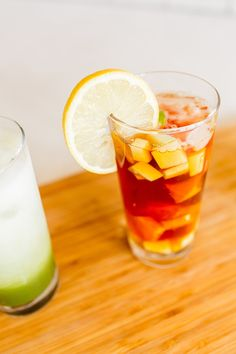 Fresh Fruit Sangria Black Iced Tea