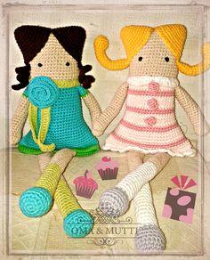 Muñecas cuadradas Oma & Mutti