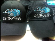 Embroidered hats are a professional and stylish business promotion, or great for your staff!