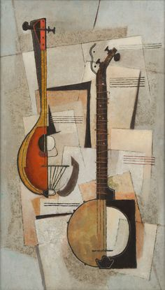 MID-CENTURIA : Art, Design and Decor from the Mid-Century and beyond: Movements & Themes: String Instrument Paintings