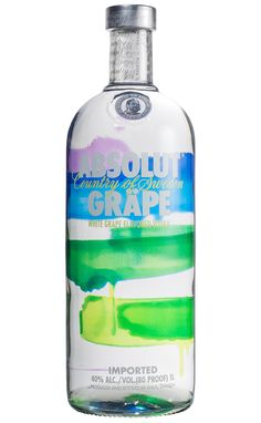 Vodka Absolut Grape