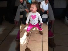 1 year old dancing to watch me whip