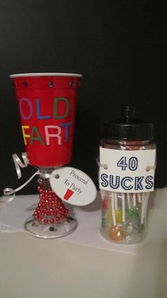 Birthday Gifting #40th birthday and #60th birthday