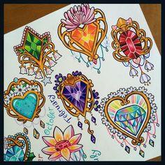 """1,176 synes godt om, 72 kommentarer – @melvin_arizmendi på Instagram: """"✨✨ May: Emerald & Lily of the Valley November: Citrine & Chrysanthemum  April: Diamond &…"""""""