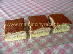 Nebeská Máňa Tiramisu, Ethnic Recipes, Food, Essen, Meals, Tiramisu Cake, Yemek, Eten
