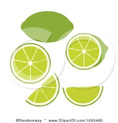 lime slice graphics