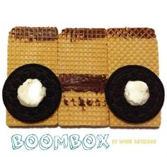 Project Friday - Boombox by Wink Artisans SD Craft Monsters