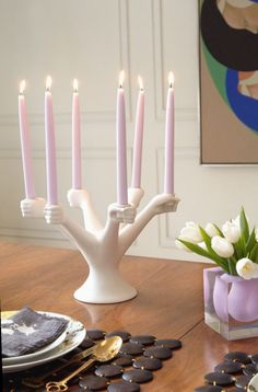 Jonathan Adler Porcelain Eve Candelabra Add a heavy dose of temptation to your next dinner party, with the our Eve-inspired riff on the neoclassical Cute Diy Crafts, Foam Crafts, Decor Crafts, Decorative Accessories, Home Accessories, Painting Accessories, Bathroom Accessories, Design Scandinavian, Room Interior Design