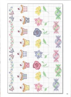Cross-stitch Cute Block Designs for Baby, part 5... color chart on part 4....     Gallery.ru / Фото #15 - 126 - elena-72
