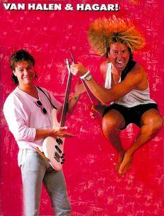 Van Halen 2, Van Halen 5150, Alex Van Halen, Eddie Van Halen, Wolfgang Van Halen, Van Hagar, Red Rocker, Best Rock Bands, Best Guitarist
