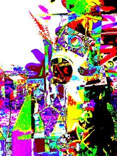 #Madame Mazuni, Sticker-Bombing-mazuni-styleee on ArtStack #madame-mazuni-1 #art