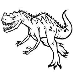 Free New Dinosaur Velociraptor Coloring Pages For Kids Classroom Velociraptor Coloring Page