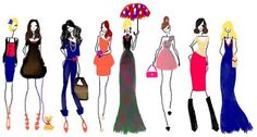 fashion illustration I did some time ago.  #fashion #bybc