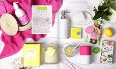 bath accessories - zesty & fresh