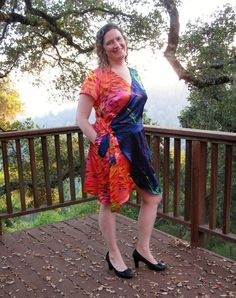New Sewing Pattern: Petaluma Faux Wrap Dress - Itch To Stitch Dress Sewing Patterns, Faux Wrap Dress, I Dress, Wardrobe Staples, Bodice, Feminine, Stitch, Pretty, Sleeves