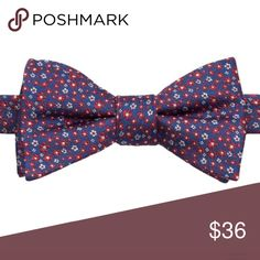 """Bow tie Product Details Distinguish yourself from the crowd with this men's Bow Tie Tuesday bow tie.  PRODUCT FEATURES 4.25"""" x 2.5"""" Pretied design Adjustable strap FABRIC & CARE Silk, polyester Accessories"""