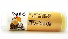 NuPo Skincare - Pina Colada - Lip Balm, $6 My FAV of all.. reminds me of being under some Palm Trees sippn' on a drink!!! #PinaColada #NuPo #Softlips