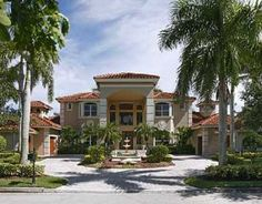South Florida 5BR/6.1BA/4CG pool home on the golf course listed for $1,495,000.