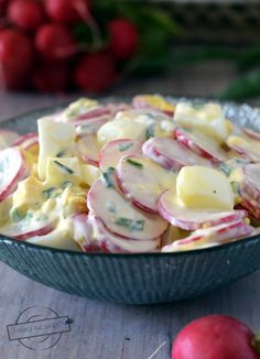 Salad Recipes, Healthy Recipes, Cheese Fruit, Good Food, Yummy Food, Viera, Mayonnaise, Side Dish Recipes, Food Pictures