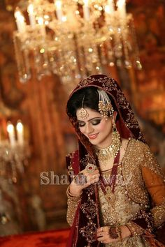 """Makeup is one of the biggest embellishment on the wedding day. Rather, every bridal spends most of time to get perfect makeup. You should always adopt perfect makeup for the betterment of your look. Our today's topic is """"Mariam Khawaja Bridal Makeup Ideas Desi Bride, Desi Wedding, Wedding Ring, Wedding Dress, Bridal Looks, Bridal Style, Pakistan Wedding, Pakistani Bridal Dresses, Pakistani Makeup"""