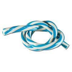 Simple Meterkabel Twister blau weiss Fruchtgummi St ck Fruchtgummi Fruchtgummi Kabel